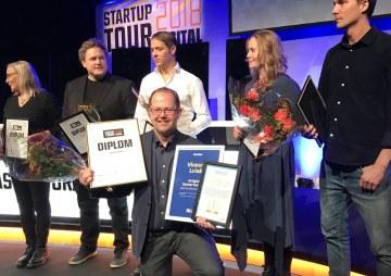 Vi grattar Exeri som vann pitchtävlingen på DI startup tour i Luleå – här kan du se alla pitchar