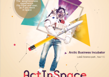 Vill du vara först i Sverige att delta i ActInSpace 25-26 maj i Luleå!