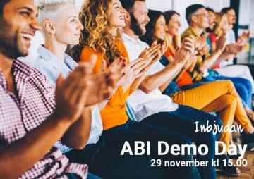 ABI Demo Day – 29 november kl 15
